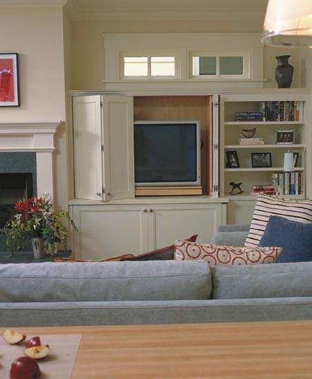 Contemporary Family Room by Mahoney Architects and Interiors