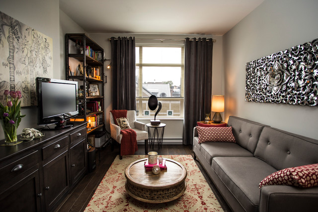 Main St Eclectic Modern Eclectic Family Room Vancouver By