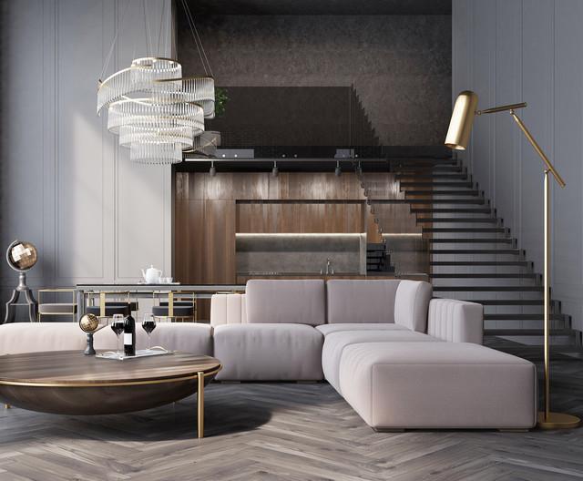 Maison de Luxe- Parisian Interior Design - Minimalistisch ...