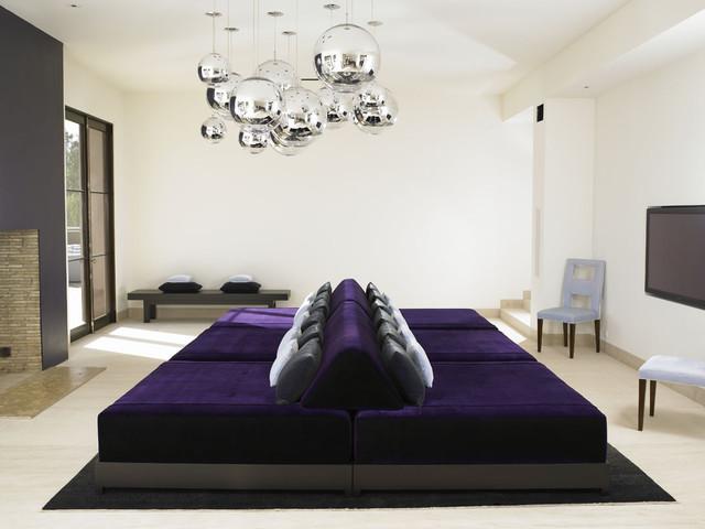 Malaga mediterranean-family-room