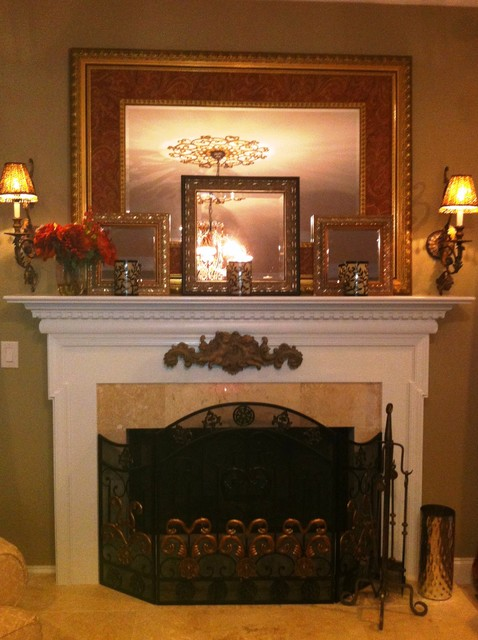 Manalapan NJ home traditional family room