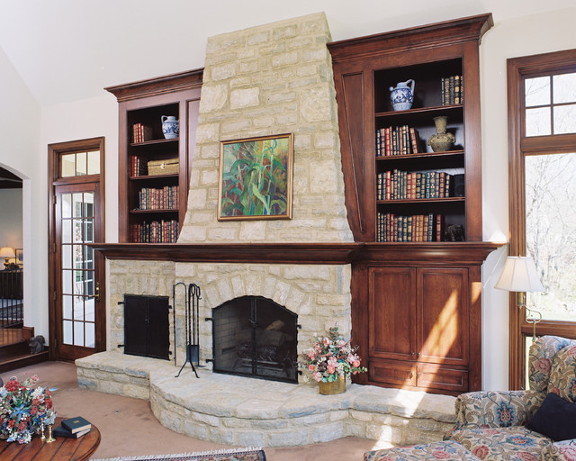 Matrka Inc. traditional family room