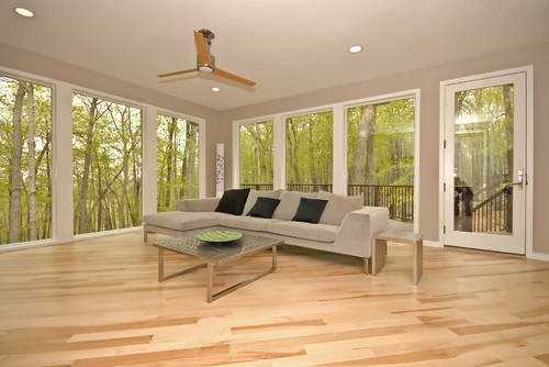 contemporary family room Flooring Pattern Guide