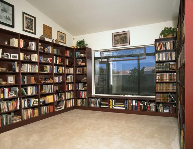 Media center bookshelves for Media center with bookshelves