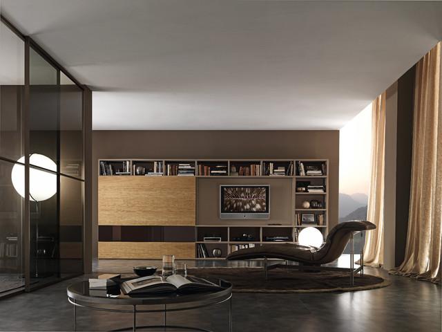 Media Unit 002887 Modern Family Room Other By Usona