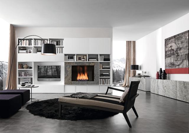 Media Unit 002890 modern-family-room