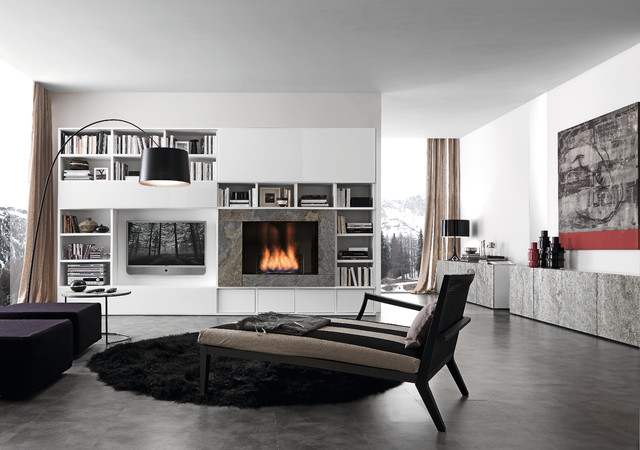 media unit 002890 - modern - family room - philadelphia -usona
