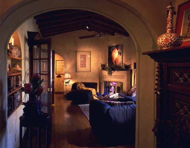 Mediterranean Architecture mediterranean-family-room