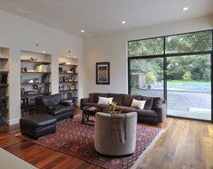 Menlo Oaks Residence contemporary-family-room