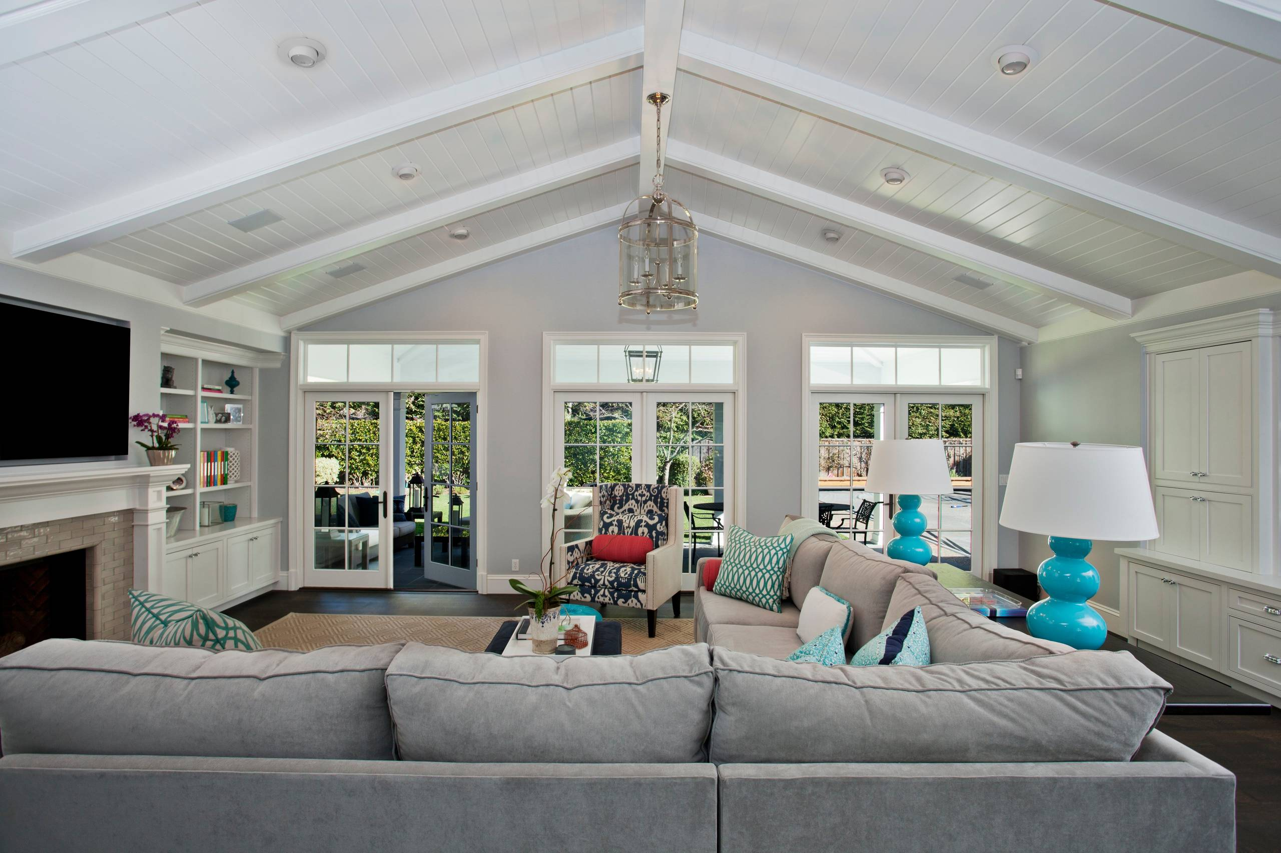 Vaulted Ceiling Lighting Houzz