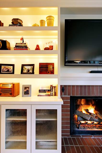 Mercer Island Media Center traditional-family-room