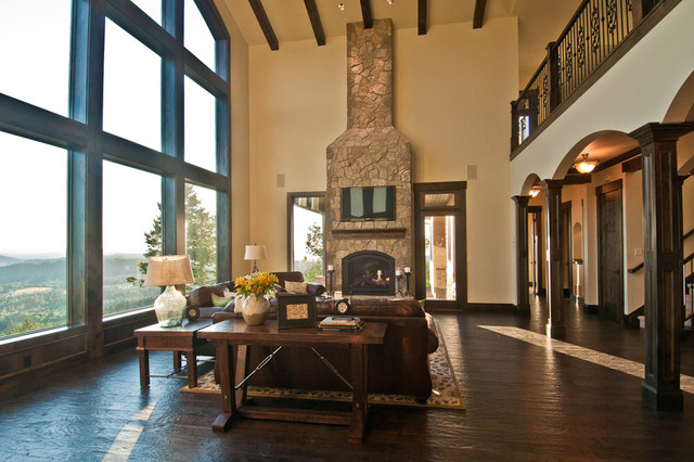 Meritage Great Room Family Room Portland By Dc Fine