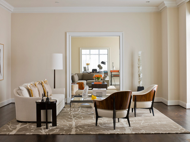 MICHAEL MOLTHAN LUXURY HOMES INTERIOR DESIGN GROUP Modern Family Room D