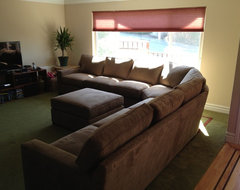 MICHELLE - SIMPLE LINES ANCHOR ANY ROOM transitional sectional sofas