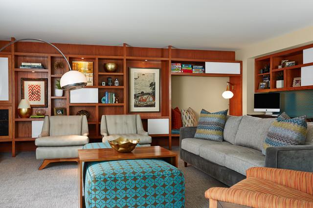 Mid Century Modern Wohnzimmer