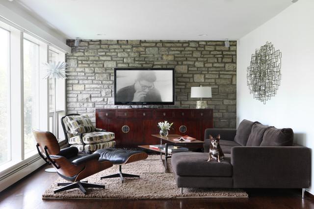 Mid Century Modern Masterpiece Family Room St