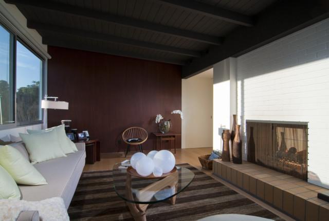 Mid-Century Renovation midcentury-family-room