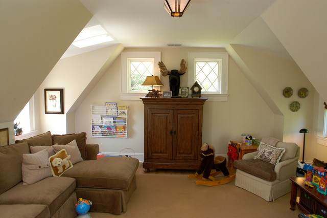 Middlebrook Farm Rd. traditional-family-room