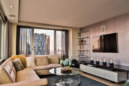 Midtown Penthouse.  New York City.