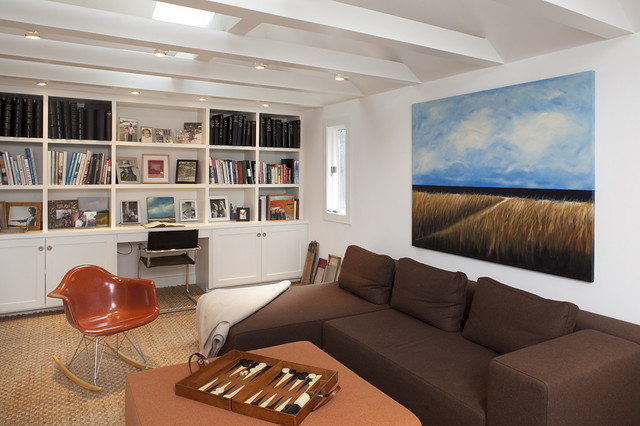Mill Valley contemporary-family-room