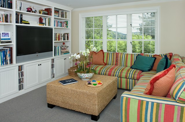 Mill Valley Gourmet traditional-home-theater
