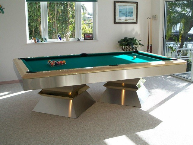 Millennium pool table by mitchell pool tables moderne for Table de sejour moderne