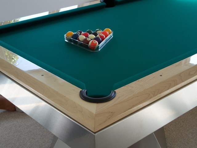 MILLENNIUM Pool Table By MITCHELL Pool Tables Modern Family Room