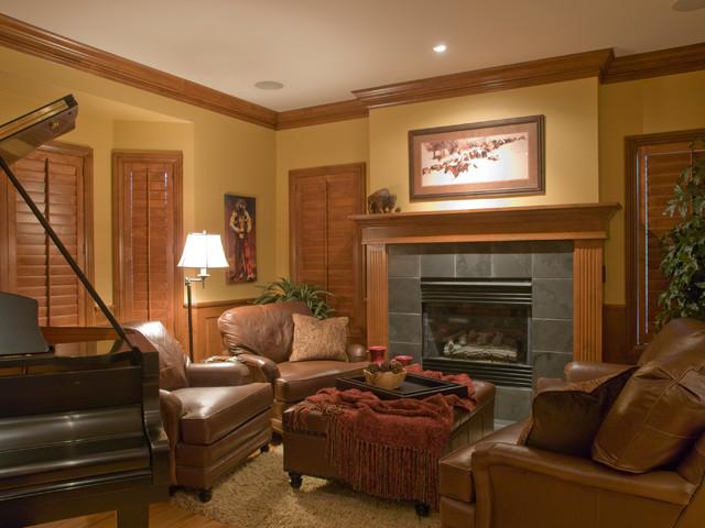 Miller Living/Family Room traditional-living-room