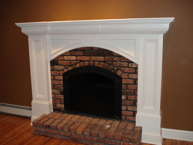 millwork rustic-family-room