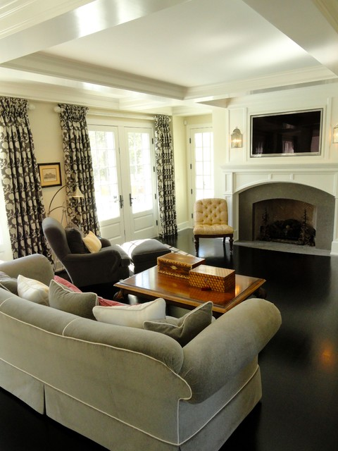 Minnesota Private Residence traditional-family-room