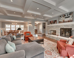 Minnetonka Residence traditional family room