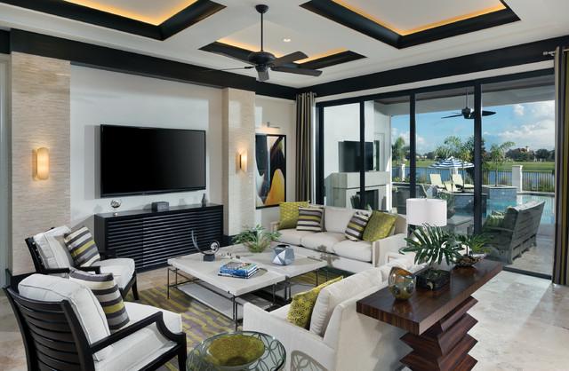 Hervorragend Model Home Interior Design   Ravenna 1291 Klassisch Modern Wohnzimmer