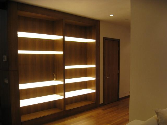 family room lighting design. Modern Built-in Modern-family-and-games-room Family Room Lighting Design I