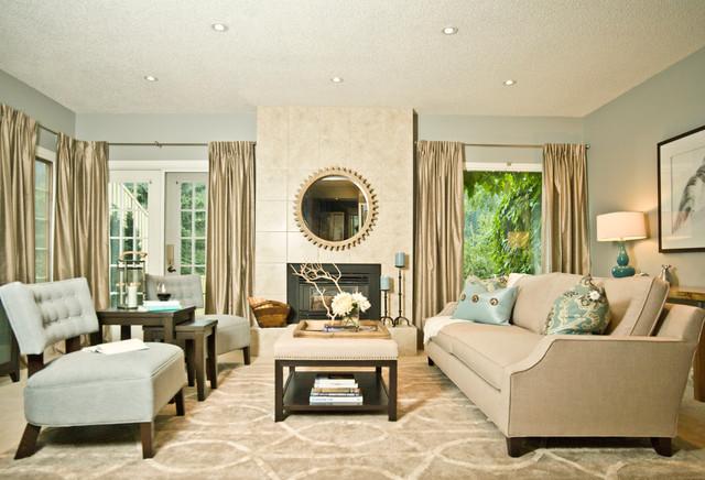 modern country wohnzimmer – chillege, Wohnzimmer dekoo