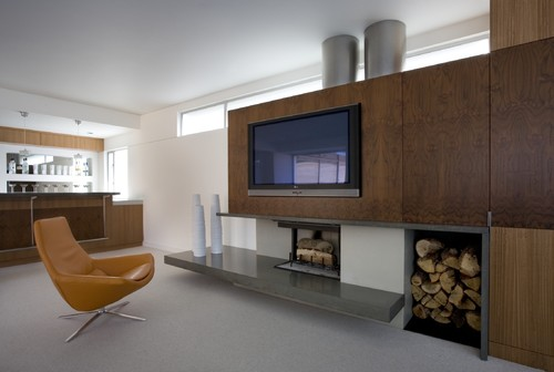 Concreteworks photos modern family room