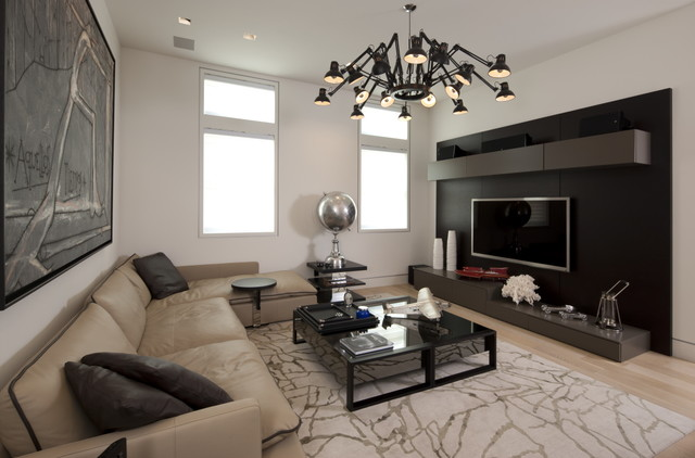 Modern Family Room Fair With Modern Family Room  Modern  Family Room  other metro  by David De  Photo