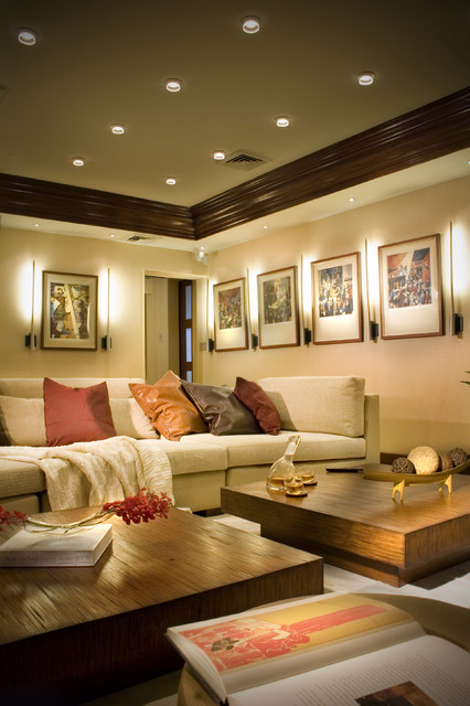 Hibiscus Island by DKOR INTERIORS- Interior Designers Miami modern-family-room