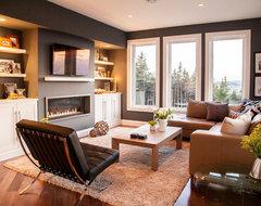 Modern Family Room contemporary-family-room
