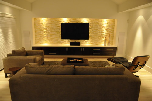 Cheri Quite Contrary Media Room Ideas