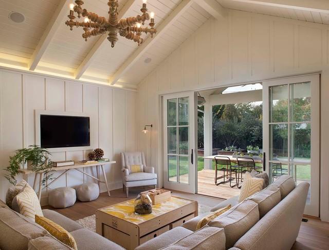 Modern farmhouse - Landhausstil - Wohnzimmer - San Francisco ...