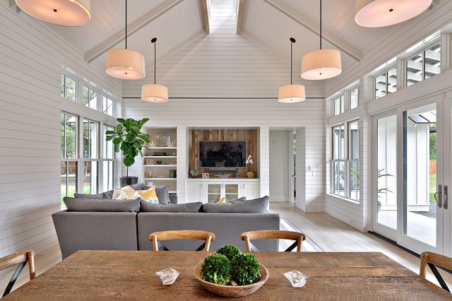 Tim brown architecture · architects building designers modern farmhouse farmhouse family room