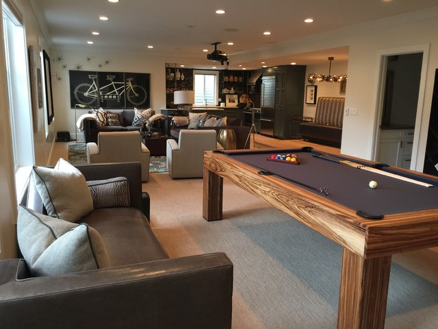 Modern Game Room Contemporary Games Room Orange County By West State Billiards Gamerooms Houzz Uk