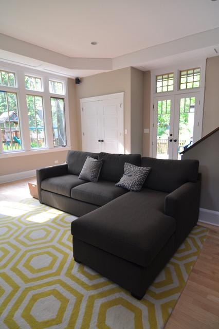 Evanston Home contemporary-family-room