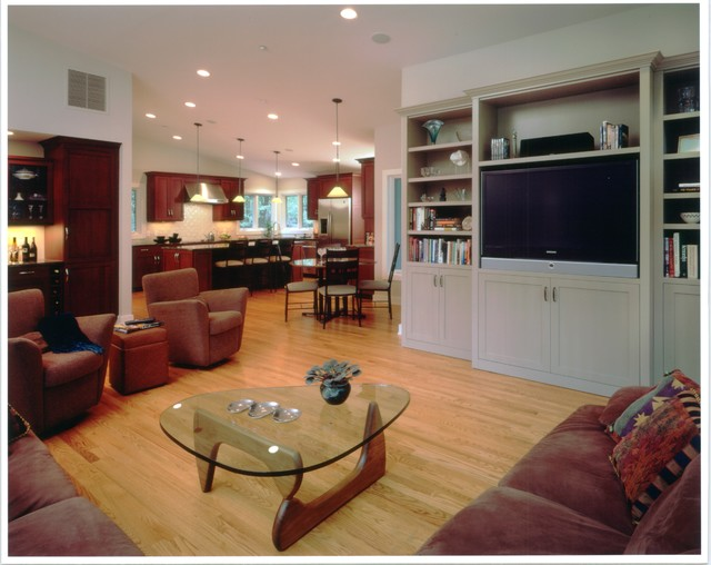 modern kerry lane traditional family room new york by peter