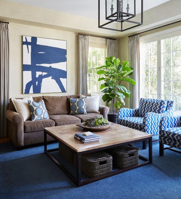 Home Bar Design Ideas Houzz: Houzz Tour: Modern Update For A Traditional Home