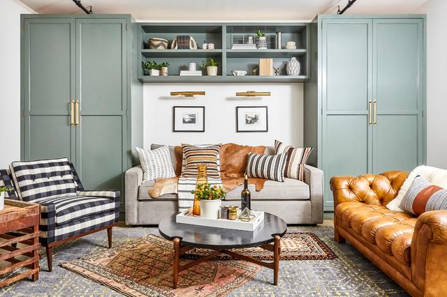Modern Loft Klassisch Modern Wohnzimmer