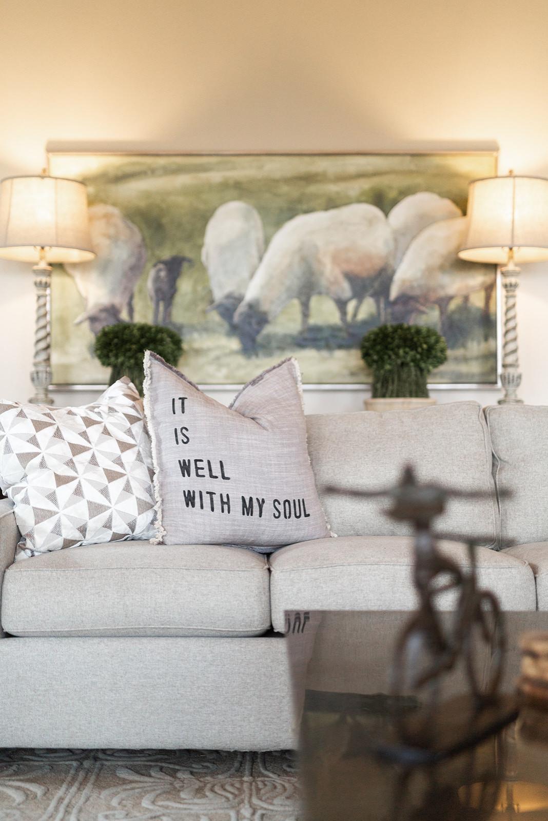 Modern Luxury Farmhouse Hearth Room