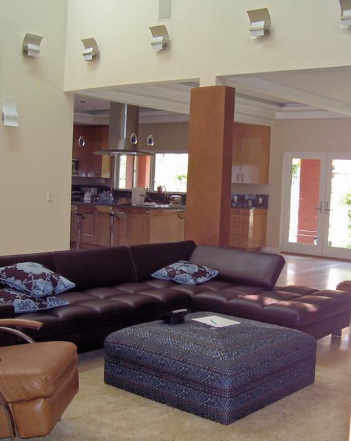 Modern Marin County Remodel modern-family-room