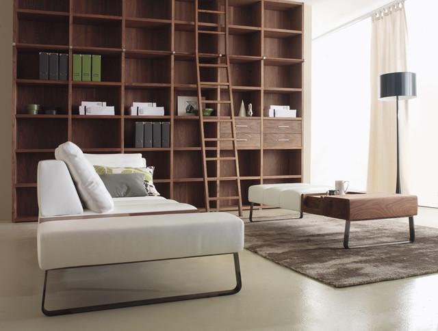Modern Media Room modern-family-room