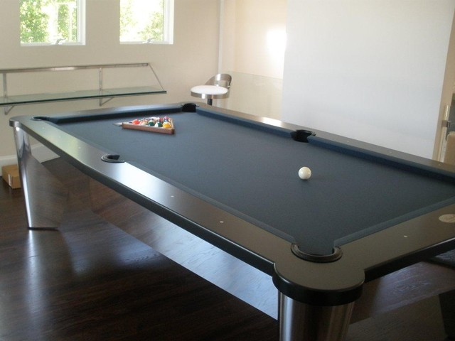 Beau Modern Pool Table By MITCHELL By MITCHELL Pool Tables  Contemporary Family Room